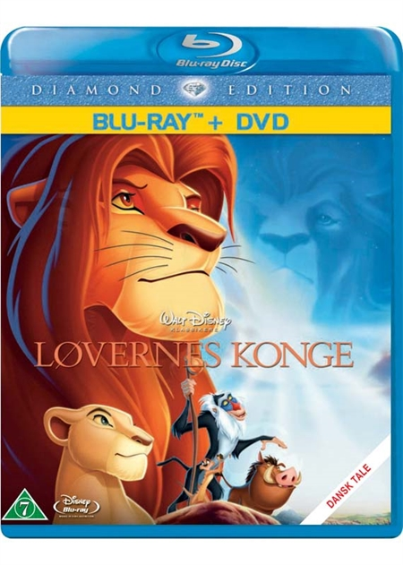 Løvernes Konge -  Diamond Edition - Disney Klassikere nr. 32  (Blu-ray+DVD)