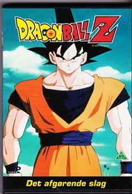Dragon Ball Z - Det afgørende slag (DVD)