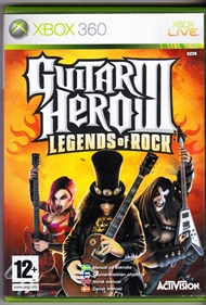 Guitar hero 3 - Legends of rock (Spil)