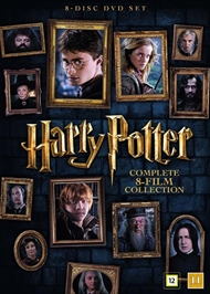 Harry Potter 1-8 - Den komplette samling (DVD)