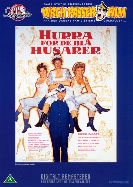 Hurra for de blå Husarer (DVD)