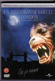 En Amerikansk varulv i London (DVD)