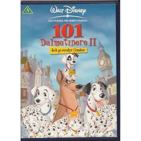 101 Dalmatinere 2 - Kvik på eventyr i London (DVD)