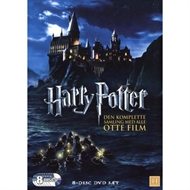 Harry Potter - Den komplette samling (DVD)