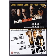 Lucky number slevin / 16 Blocks - 2film (DVD)