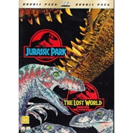 Jurassic park and The lost world - 2film (DVD)