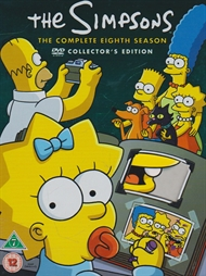 The Simpsons - Sæson 8 (DVD)