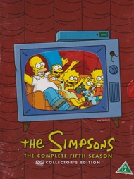 The Simpsons - Sæson 5 (DVD)