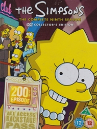 The Simpsons - Sæson 9 (DVD)